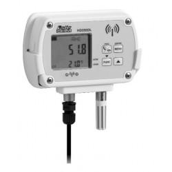 HD 35ED 1NUB TCV Gravador de dados sem fio para Temperatura, Umidade e Radiação UVB Irradiance