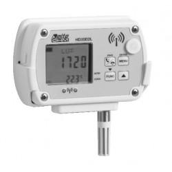 HD 35ED 14bNIU TV Registrador de datos Inalámbrico de Temperatura, Humedad, Presión Atmosférica, Iluminancia e Irradiación UVA