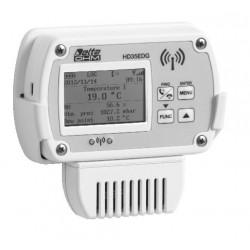 HD35ED 14bNAB Registrador de datos Inalámbrico de Temperatura, Humedad, Presión Atmosférica, CO y CO2