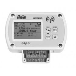 HD 35EDH Registrador de datos Inalámbrico con tres entradas de Cabecera de Terminal