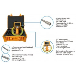 AO-710DN-SCJ Cámara de Inspección de Desagües y Tuberías