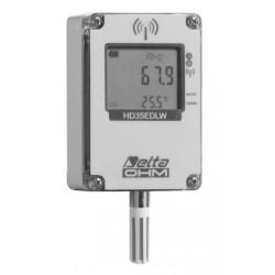 HD 35EDW 1N TV Registrador de Datos Inalámbrico de Temperatura y Humedad