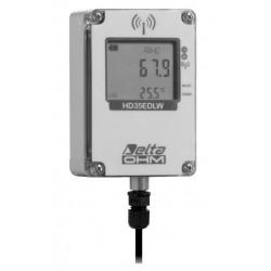 HD 35EDW 14b7P TC Registrador de datos Inalámbrico de Temperatura, Humedad y Presión Atmosférica