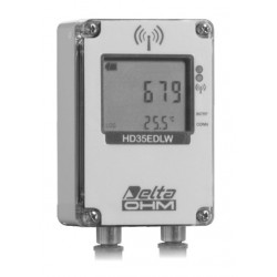 HD 35EDW 7PR TC Registrador de Datos Inalámbrico para la Radiación Solar y Temperatura del Panel Solar