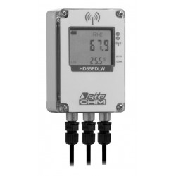 HD 35EDW 1N7PR TC Registrador de Dados sem fio para Temperatura Ambiente, Umidade, Radiação Solar e Temperatura do Painel Solar