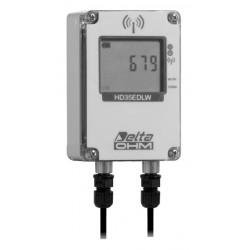 HD 35EDW RP TC Registrador de Datos Inalámbrico de Radiación Solar y Cantidad de Lluvia