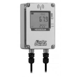HD 35EDW 1NP TC Registrador de Datos Inalámbrico de Cantidad de Lluvia, Temperatura y Humedad