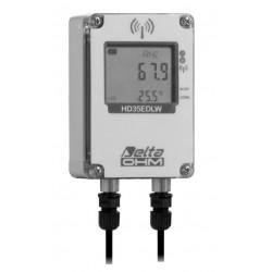 HD 35EDW 1NL TC Registrador de Datos Inalámbrico de Temperatura, Humedad y Humedad de la Hoja