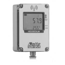 HD 35EDW S TC Conteúdo de Água Volumétrica do Solo (VWC) e Registrador de Dados sem fio de Temperatura