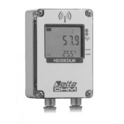 HD 35EDW S/2 TC Contenido de Agua Volumétrica del Suelo (VWC) y Registrador de Datos Inalámbrico de Temperatura