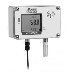 HD 35EDW 1NI2 TCV Registrador de Dados Inalâmbricos de Temperatura, Umidade e Iluminação