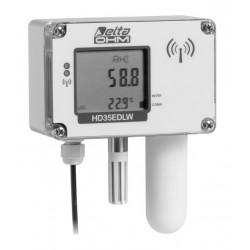 HD 35EDW 1NB… TV Registrador de Dados Inalâmbricos de Temperatura, Umidade e Dióxido de Carbono