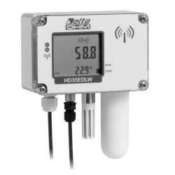 HD 35EDW 1NB…I…TCV Registrador de Dados Inalâmbricos de Temperatura, Umidade, Dióxido de Carbono e Iluminação