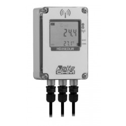 HD 35EDW WBGT Wireless Data Logger for the Analysis of the WBGT (Wet Bulb Globe Temperature)