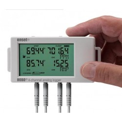 UX120-006M HOBO 16-bit 4-Channel Analog Data Logger