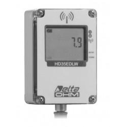 HD 35EDWP TC Registrador de Datos Inalámbrico de la Cantidad de Lluvia