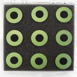 ASC-2.0 Celda de Botón de Electrolito - Compatible con Ánodo (20 mm)