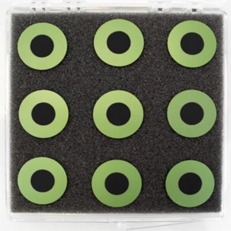 ASC-2.5 Celda de Botón de Electrolito - Compatible con Ánodo (25 mm)