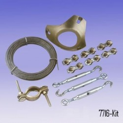 AO-7716-Kit Guy Wire Kit for Weather Stations 6 Masts