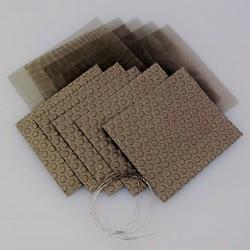 Kit-Colector de Corriente de accesorio de prueba 5 cm x 5 cm
