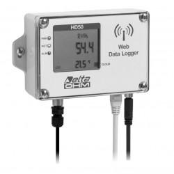 HD 50 14b7P TC Registrador de Datos de Temperatura, Humedad y Presión Atmosférica