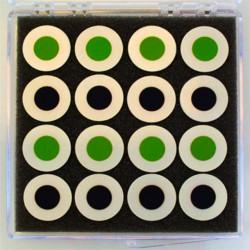NextCell Celda de Botón Compatible con Electrólito
