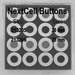 Célula de botão NextCell compatível com eletrólito