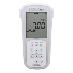 pH110 Medidor Portátil LAQUAact para la Calidad del Agua