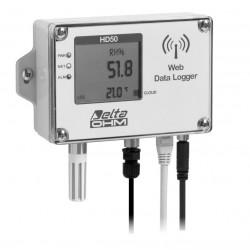 HD 50 1NI… TCV Registrador de datos de Temperatura, Humedad e Iluminancia