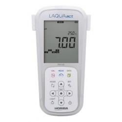 pH120 Medidor Portátil LAQUAact para la Calidad del Agua
