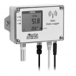 HD 50 14bNI… TCV Registrador de Datos de Temperatura, Humedad, Presión Atmosférica e Iluminancia
