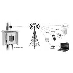 HD 33M.GSM Registrador de Dados sem fio no Invólucro à Prova d'água IP 67