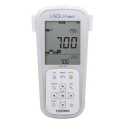 pH130 Medidor Portátil LAQUAact para la Calidad del Agua