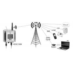 HD 33T4b.GSM Registrador de datos Inalámbrico en Carcasa Resistente al Agua IP67
