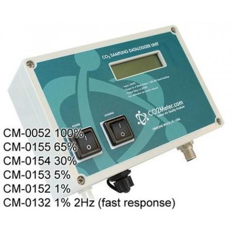 CM-01 Series Data Logger CO2 con Alarma