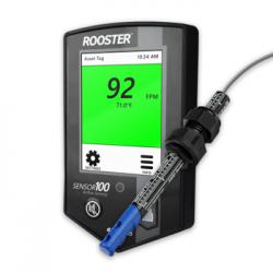 Rooster Sensor100 Sensor de Velocidade e Temperatura do Ar