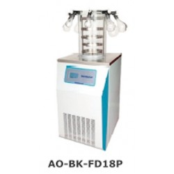 AO-BK-FD18P Freeze Dryer (Vertical Type) (Standard Chamber with 8 Port Manifold) (Freeze Drying Area: 0.18 m2)
