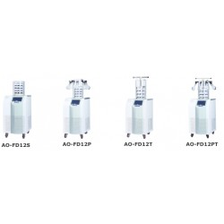 AO-BK-FD18PT Freeze Dryer (Vertical Type) (Stoppering Chamber with 8 Port Manifold) (Freeze Drying Area: 0.12 m2)