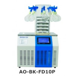 AO-BK-FD10P Freeze Dryer (Table Top Type) (Standard Chamber with 8 Port Manifold) (Freeze Drying Area: 0.12 m2)
