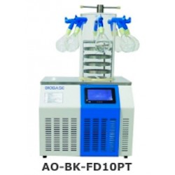 AO-BK-FD10PT Freeze Dryer (Table Top Type) (Stoppering Chamber with 8 Port Manifold (Freeze Drying Area: 0.09 m2)