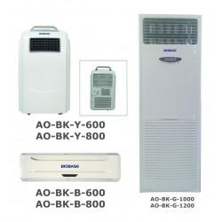 AO-BK-G-1000 Esterilizador de Aire UV (Circulación de Aire: ≥ 1000m3 / h / Pantalla LCD)