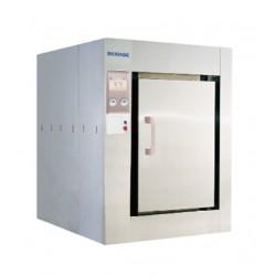 AO-BKQ-1200D-B Autoclave Horizontal Grande (Volumen: 1203L/ Consumo: 5Kw/ Tamaño Ext: 1445x1940x1755mm/ Peso Neto: 1950Kg)