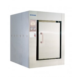 AO-BKQ-1200S-B Autoclave Horizontal Grande (Volumen: 1203L/ Consumo: 5Kw/ Tamaño Ext: 1445x1940x1760mm/ Peso Neto: 2050Kg)