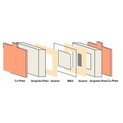 25 cm2 PEM Fuel Cell Hardware - EFC-25-02-REF