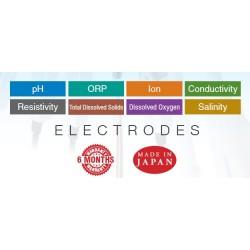 6367-10D Electrodo LAQUA de pH 3 en 1 con Cuerpo de Vidrio (Medida de pH de Alta Precisión)