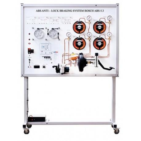 MSABS1 Simulador de Tablero de Entrenamiento del Sistema de Frenos ABS 5.3 BOSCH