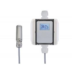 AO-RRFTP(P)/A-D Transdutor de Umidade com display e saída de Temperatura passiva e Sonda Pt100