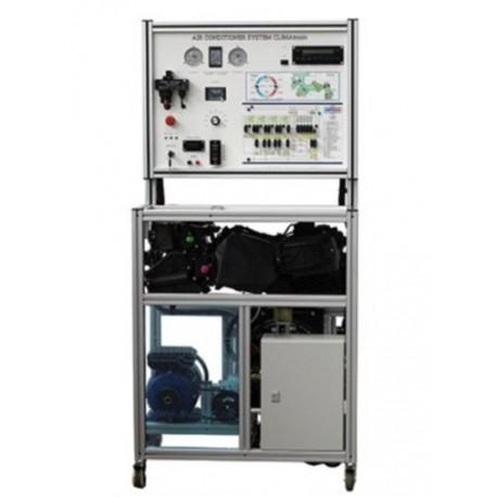 MSC1 Plataforma de Entrenamiento del Sistema de Climatización y Aire Acondicionado (Sistema con Tubo de Orificio)