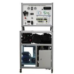 MSC2 Plataforma de Entrenamiento del Sistema de Climatización y Aire Acondicionado (Sistema con Válvula de Expansión)