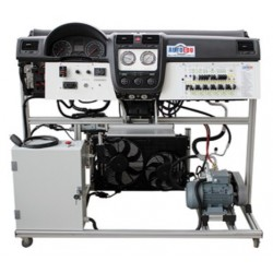 MSC3-B Dual Zone Air Conditioning and Climate Control Trainer with Auxiliary Heater